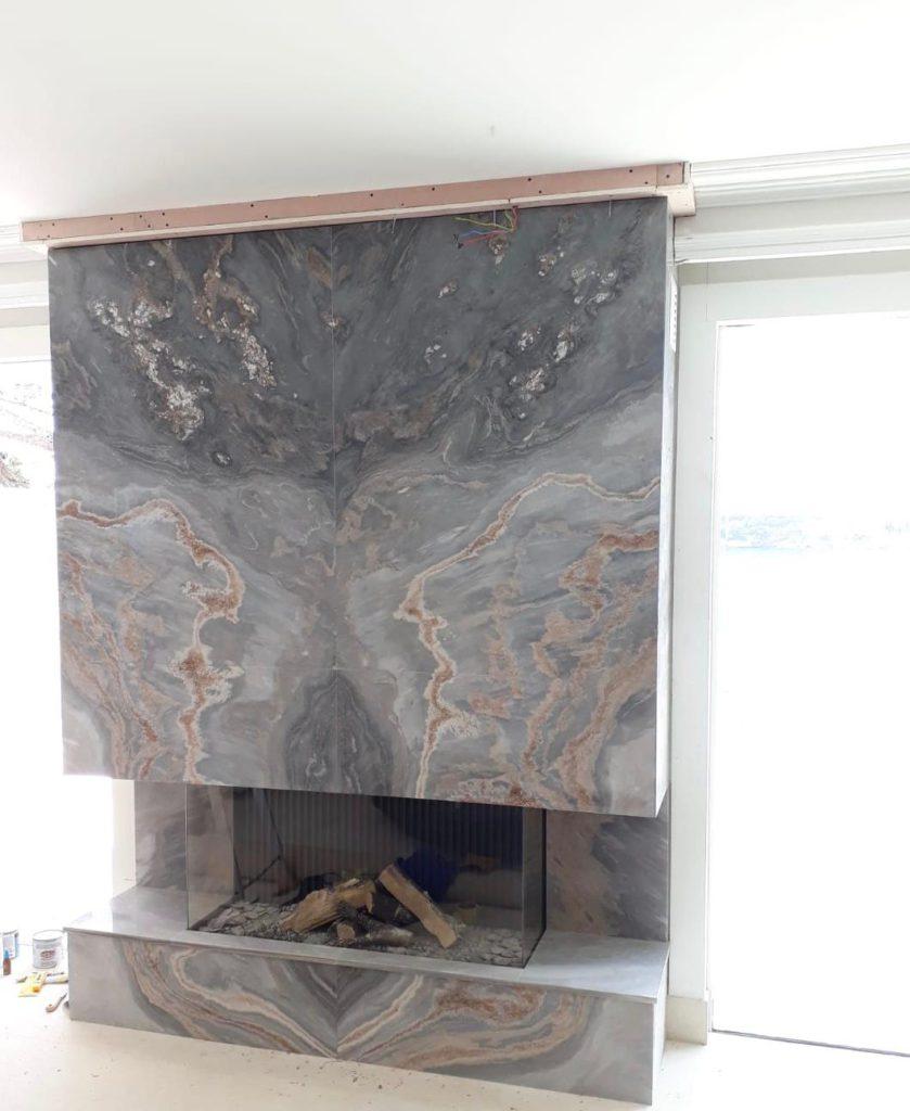 Nuvolato fireplace